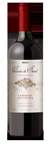 Foto da Garrafa do Vinho Cabernet Sauvignon Quinta do Seival