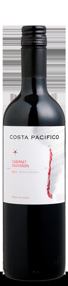Foto da garrafa do vinho Costa Pacífico Cabernet Sauvignon