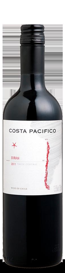 Foto da garrafa do vinho Costa Pacífico Syrah