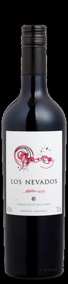 Foto da garrafa do vinho Los Nevados Malbec