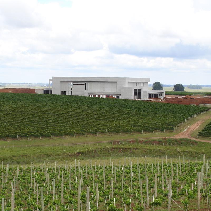 Foto do início do prédio Seival