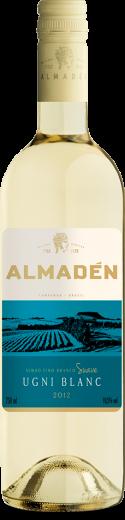Foto da Garrafa do Vinho Almadén Branco Ugni Blanc