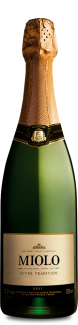 Foto da Garrafa do Espumante Miolo Cuvée Tradition Brut