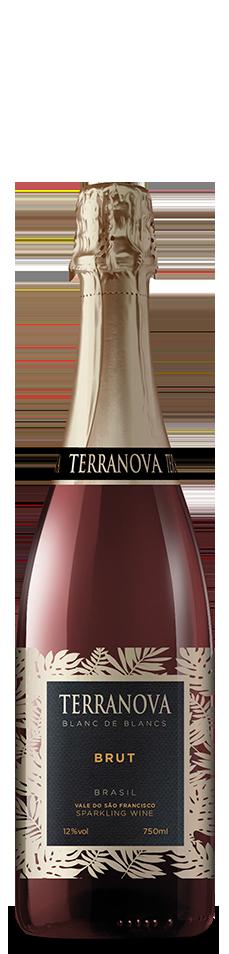 Foto da garrafa do Brut Terranova