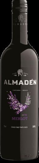 Foto da Garrafa do Vinho Almadén Merlot