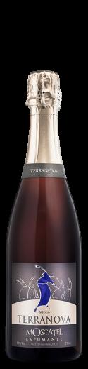 Foto da garrafa de Espumante Moscatel Terranova