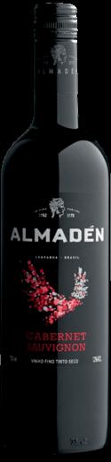 Imagem com Foto da Garrafa do Vinho Almadén Tinto Cabernet Sauvignon